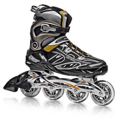 Man Rental Music Costumes (Roller Skates Men's V-Tech 500 Button Adjustable Inline Skate,)