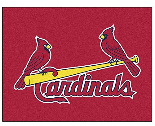Louis Cardinals Mlb Carpet (MLB - St Louis Cardinals All-Star Rug)