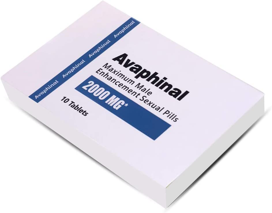 Avaphinal Natural Male Energy Supplement - Boosts Performance for Men: Health & Personal Care