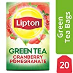 Lipton Green Tea Bags Flavored with Other Natural Flavors Cranberry Pomegranate Can Help Support a Healthy Heart 1.13 oz… 11 Lipton green tea has a naturally light fresh taste to start your day Make yourself a cup of uplifting goodness with the naturally light and fresh taste of Lipton Green tea. Get the best from your brew in 2 minutes, adding the green tea bag first then water so the leaves can unleash their flavor.