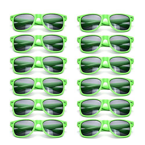 12 Pack Neon Sunglasses Kids Birthday Party Favors