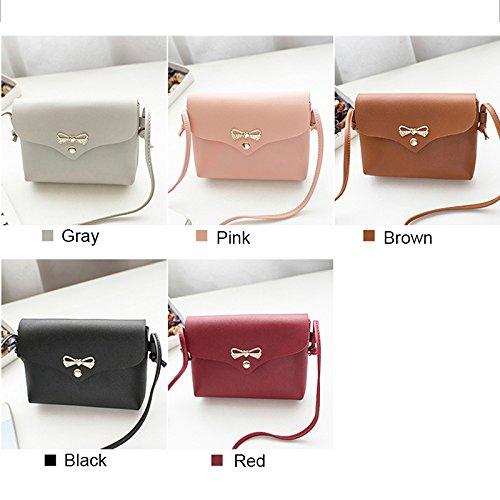 manera Bolso Crossbody de la de de Smartphone duradero la bolsa Red Majome señora del del bolso de Shoulder dinero 6ITdpw