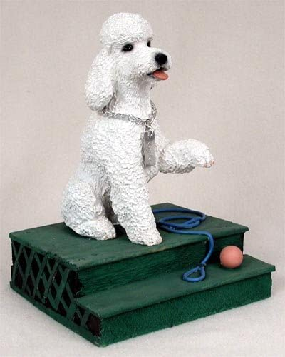 Conversation Concepts Poodle White w Sport Cut My Dog Figurine Set of 6