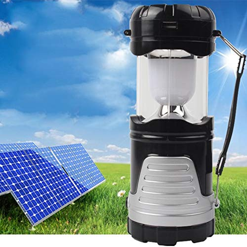 OCDAY Solar Charging Lantern Outdoor Camping Lantern LED Collapsible Electric Torch