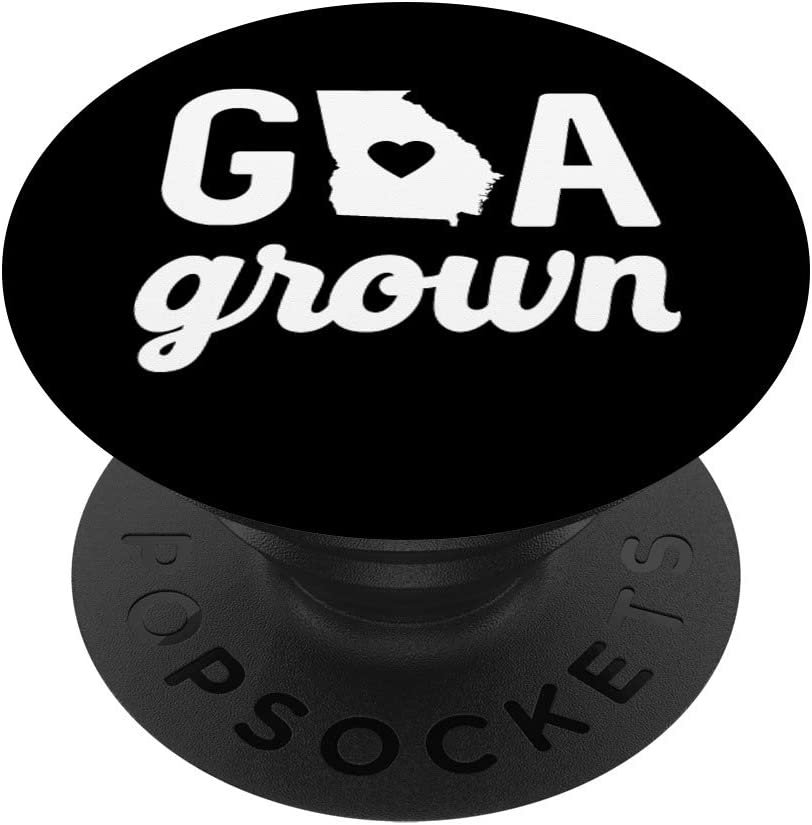 Georgia Cute GA State Grown Home Gift PopSockets Grip and Stand for Phones and Tablets