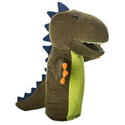 NUOBESTY Animal Hand Puppets Kids Finger Puppets Set Dinosaur Hand Puppet Doll Hand Toys Kids Christmas Holiday Birthday Party Supplies Favors Goodie Bag fillers: Health & Personal Care