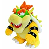 Bowser Plush 10'' - Super Mario Bros Plushie Toy 10 Inch Tall PRIME