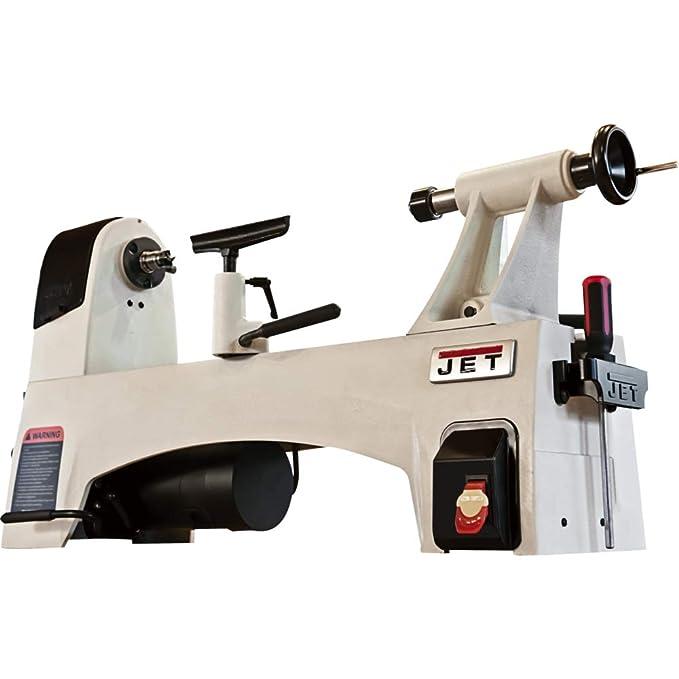 best wood lathe: Jet 719115 JWL-1221SP Step Pulley Wood Lathe