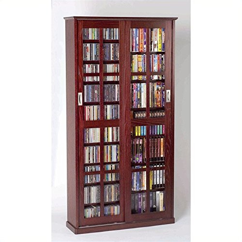 Sliding door cabinets amazon leslie dame ms 700dc mission multimedia dvdcd storage cabinet with sliding glass doors cherry eventshaper