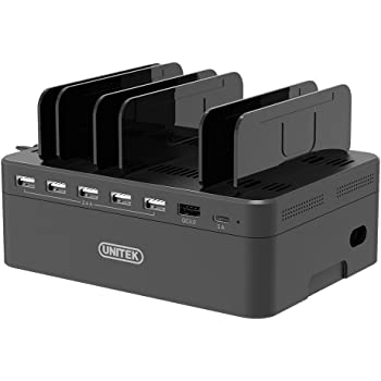 Amazon Com Ipad Charging Station Unitek 96w 10 Port Usb