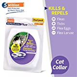 Hartz UltraGuard Plus 2 Pack Flea & Tick Collar for Cats and Kittens, 7 Month Protection