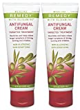 Medline Remedy Olivamine Antifungal Cream, White, 4 fl oz, 2 Pack
