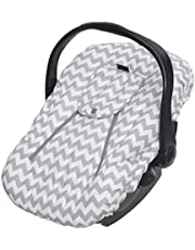 Jolly Jumper Sneak-A-Peek Deluxe, Grey and White Striped Car Seats