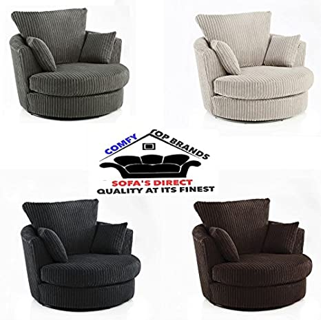 Terrific New Dylan Chicago Jumbo Cord Right Hand Corner Sofa Ferguson Tub Swivel Chair Uk Add A Free Footstool With Your Order Swivel Chair Cuddle Chair Pabps2019 Chair Design Images Pabps2019Com