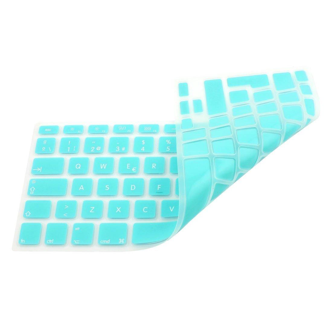 Amazon.com: eDealMax la piel del teclado español cubierta Azul claro de la UE Para el MacBook Air DE 17 pulgadas 13 15: Electronics