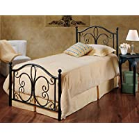Hillsdale Furniture 1014BTW Milwaukee Bed Set, Twin, Antique Brown