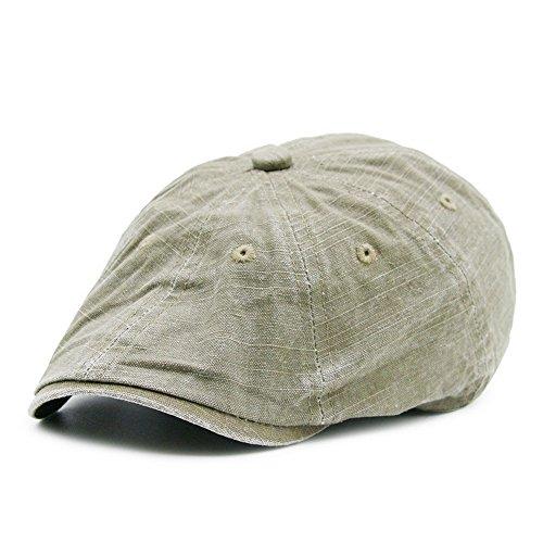 Men's Cotton Flat Ivy Gatsby Summer Newsboy Hats -