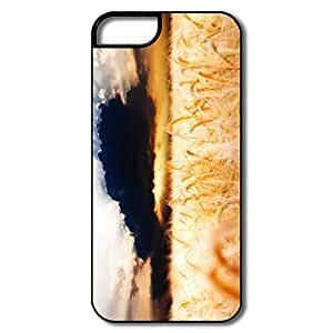 Designed Golden Wheat Field Love IPhone 5 5s Cover For Gift