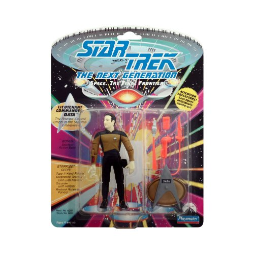 STAR TREK LT COMMANDER DATA 1992