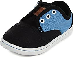 Toms - Tiny Paseos Shoes, Size: 9 M US Toddler, Color: Black Blue