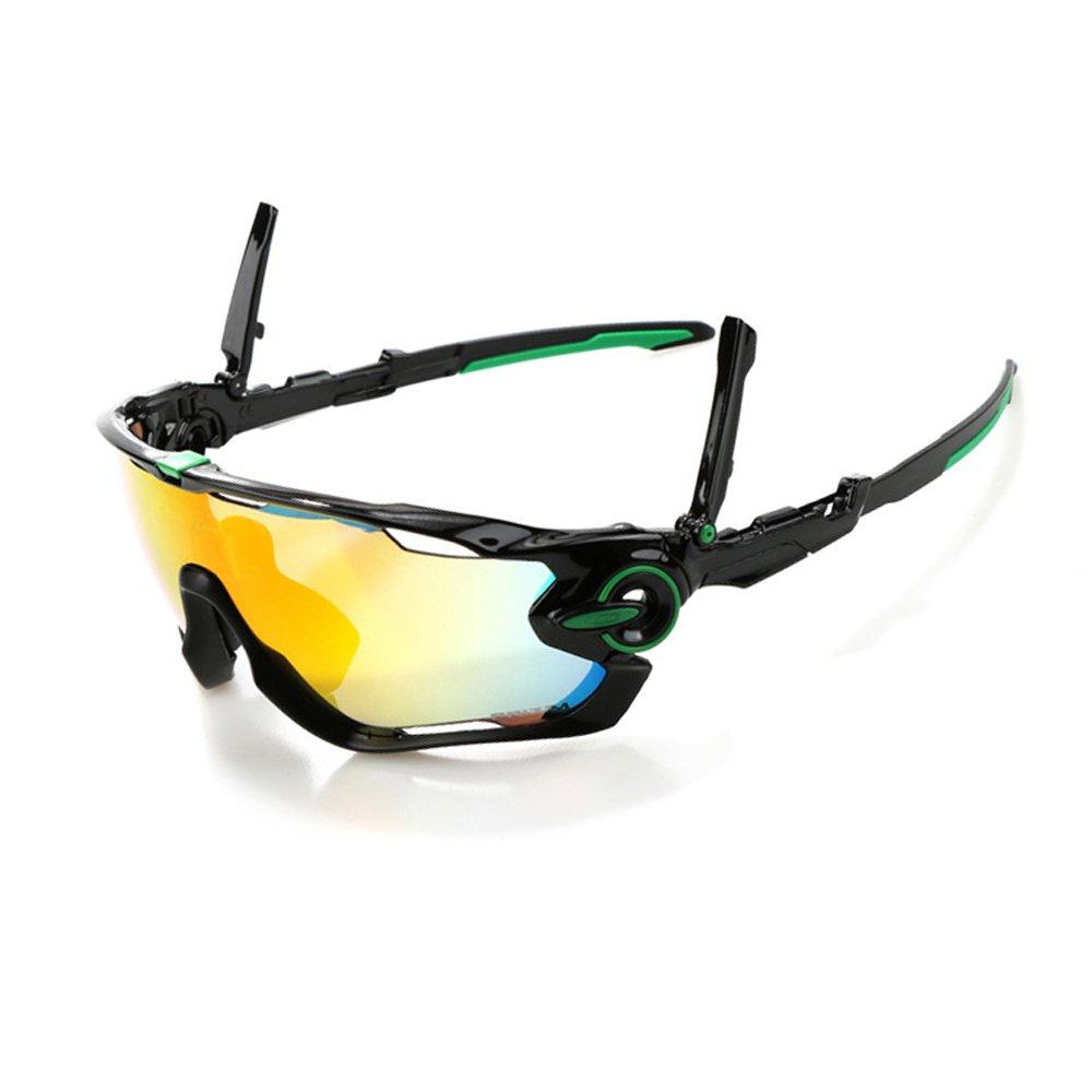 Ciclismo Gafas de Sol Jawbreaker polarizado Hombres Gafas Deportivas 4 Lentes Ciclismo Gafas Gafas de Bicicleta (Verde): Amazon.es: Deportes y aire libre