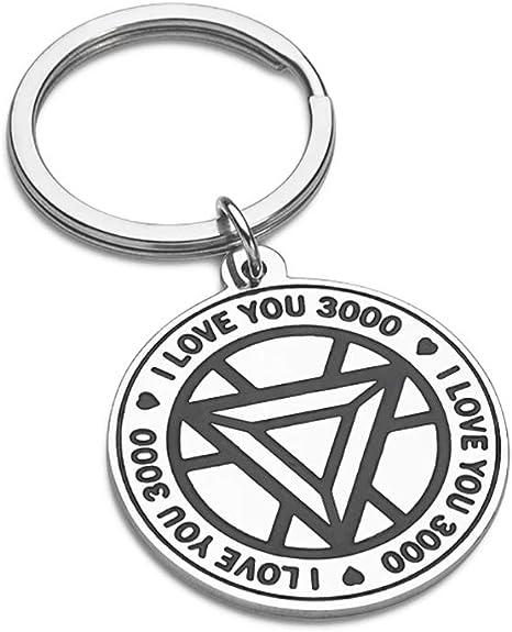 Amazon.com: Llavero de regalo para hija, hijo, papá, mamá ...