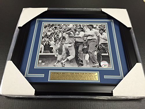 GEORGE BRETT KANSAS CITY ROYALS PINE TAR INCIDENT 8x10 PHOTO - Framed George Brett Photo