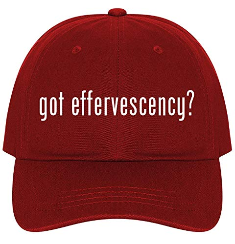 got Effervescency? - A Nice Comfortable Adjustable Dad Hat Cap, Red