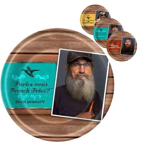Duck Dynasty Large Paper Plates (8ct)