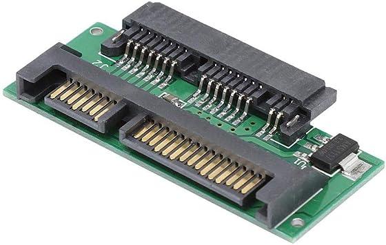 New 1.8 Inch Micro SATA HDD SSD 3.3V to 2.5 Inch 22PIN SATA 5V Adapter CA
