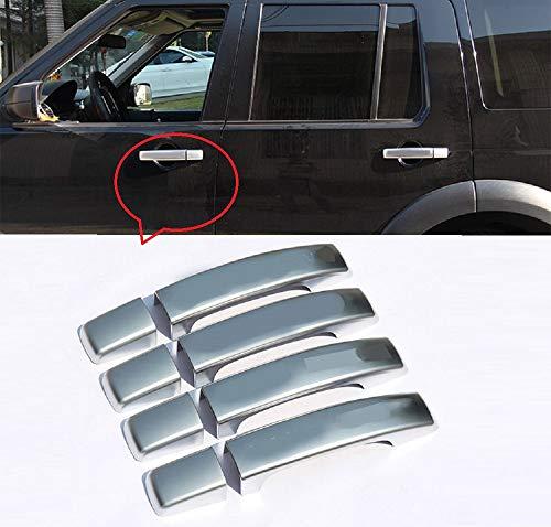 Tianrui Crown 8 piezas de manijas de puerta para Lad Rovr Discovery 4 2010-2016 LR4 Rang Rovr Sport 08-13 accesorio de coche para Freelander 2 2010-2015
