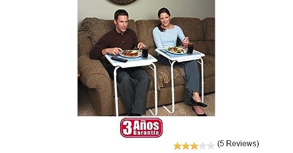 Tu compra perfecta 2017 Table Mate Mesa Auxiliar 3 AÑOS DE Garantia Bandeja para Cama Sofa Ordenador Mesa Plegable Regulable EN 6 Alturas 3 ANGULOS ...
