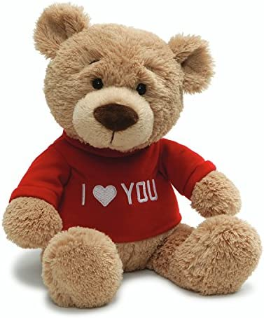 Valentines T Shirt Message Stuffed Animal