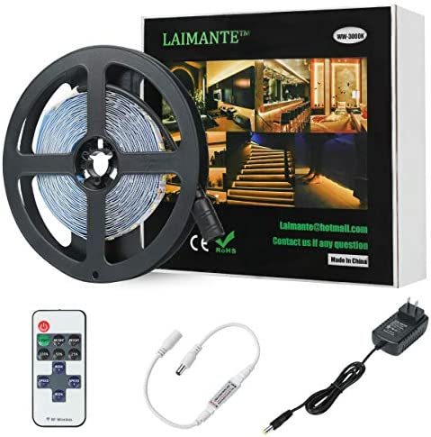 Laimante 300LEDs Dimmable Cabinet Lighting