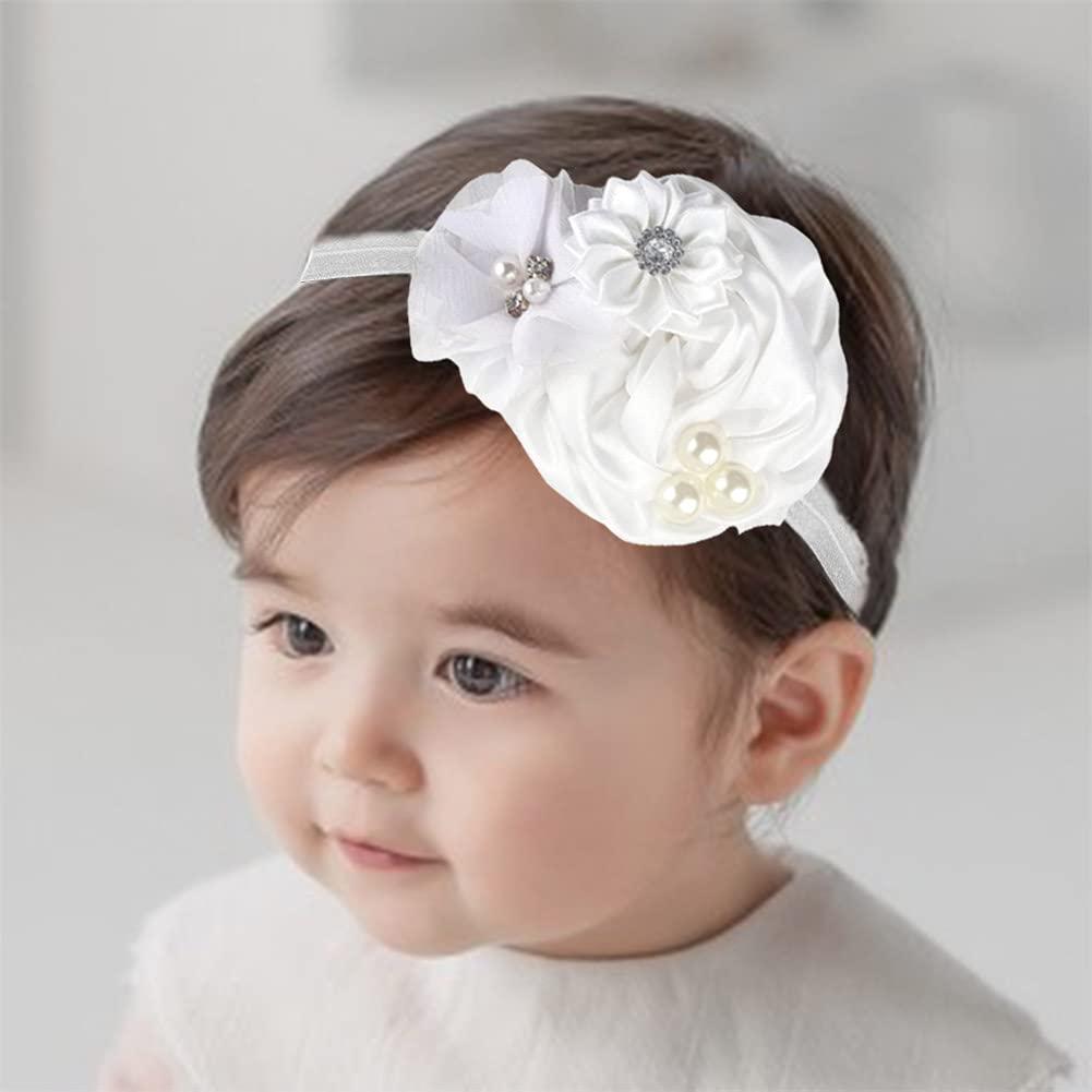 White Mum Baby Headband