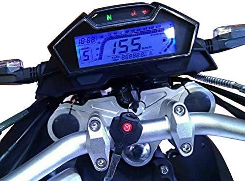 MT-03 TF4 MT-10 Tachometer digital f/ür Yamaha MT-125