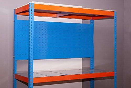 Simonrack SI908 Panel Perforado, Azul, 900 x 600 mm