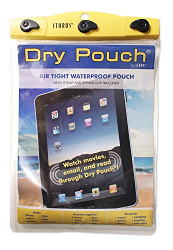 Hsn Gift Card (Storus Dry Pouch-Waterproof Storage Pouch For Protection of Valuables-Fits iPads, Tablets, Electronics and More! Made of Stretchable Polyurethane-Measures 12