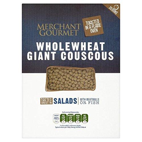 Merchant Gourmet Wholewheat Giant Couscous (300g) by Merchant Gourmet