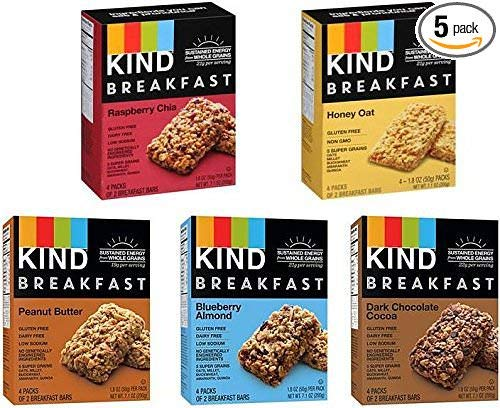 Kind, Breakfast Bars Variety, 160 Bars
