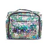 JuJuBe x Tokidoki B.F.F. Diaper Backpack, Multi-functional Convertible + Messenger Bag | Travel-Friendly, Stylish Diaper Bag | Camp Toki