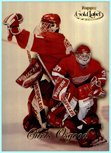 1998-99 Topps Gold Label Class 1 #76 Chris Osgood DETROIT RED WINGS