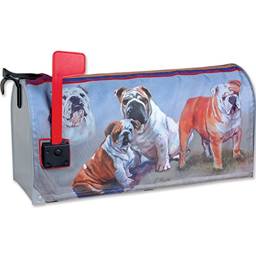 Premier Kites 58219 Mailbox Cover, Bulldogs, 18-Inch (Inflatable Premier)