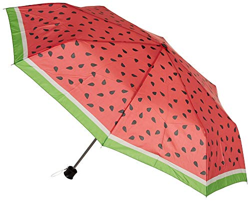 - Misty Harbor Watermelon Manual Open Umbrella One Size Pink/green/black