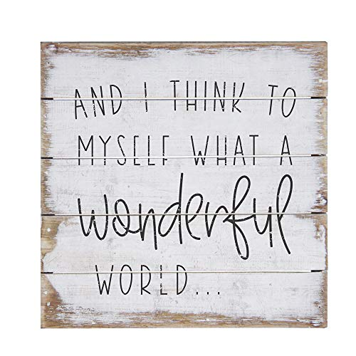 Perfect World Wall Plaque - Simply Said, INC Perfect Pallet Petites 8