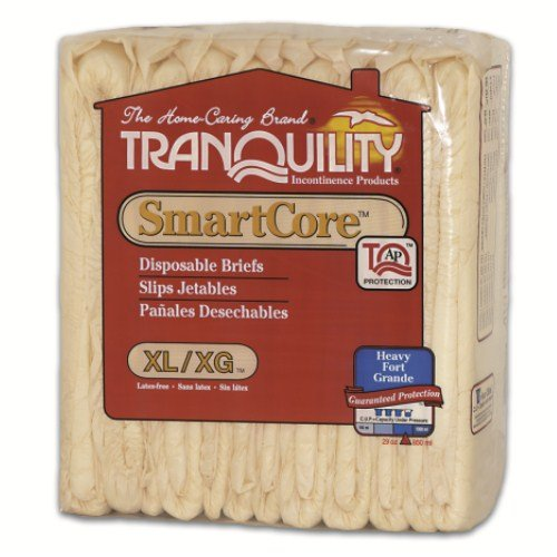 Tranquility SmartCore Breathable Briefs, X-Large, Case/72 (6/12s)