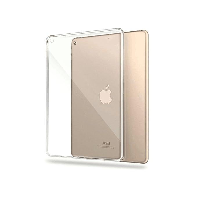 1 opinioni per Custodia iPad 9.7 2017, TopACE Cover Trasparente Crystal Anti-Graffio in TPU