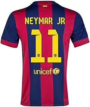 NIKE FC Barcelona Estadio Hombres Camiseta, Color - Neymar Jr 11, tamaño S/Contorno del Pecho: 88/96 cm: Amazon.es: Deportes y aire libre