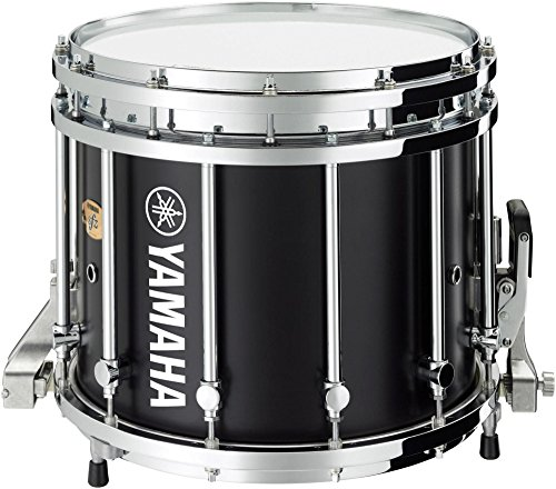 (Yamaha 9300 Series SFZ Marching Snare Drum 14 x 12 in. Black Forest with Chrome Hardware)