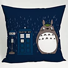 Amy Like Pillowcases Dr Who Totoro Pillow Case (20*30 inches one side)